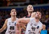 """""""Partizan"""" krepšininkai po pralaimėjimo kalbėjo apie neišnaudotas galimybes laimėti"""