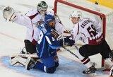 """KHL lygoje nutrūko keturių iš eilės Rygos """"Dinamo"""" pergalių serija"""