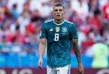 """T.Kroosas pažadėjo """"Real"""" šią vasarą nepalikti Ispanijos klubo"""