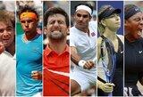 Top 30: daugiausiai per istoriją teniso kortuose uždirbę žaidėjai