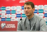 """Naują iššūkį priimsiantis T.Ražanauskas: """"Komanda supranta, kad niekas nesikeičia"""""""
