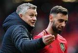 """B.Fernandesą įvertinęs """"Manchester United"""" treneris: """"Dabar turime X faktorių"""""""
