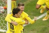 """Pirmąjį rungtynių įvartį praleidusi """"Borussia"""" įveikė """"Zenit"""""""