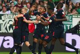 """Ketvirtąją pergalę iškovojęs """"RB Leipzig"""" įsitaisė """"Bundesliga"""" čempionato viršūnėje"""