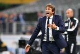 """Italijoje dominuojantis A.Conte pagerino """"Inter"""" rekordą"""