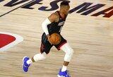 R.Westbrookas nutraukė ketverius metus trukusią nemalonią seriją