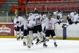 """Įspūdingame ledo ritulio trileryje –P.Verenio """"hat-trickas"""" ir """"Hockey Punks"""" pergalė po baudinių serijos"""