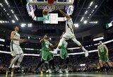 """""""Bucks"""" sutriuškino """"Celtics"""" ir išlygino serijos rezultatą"""