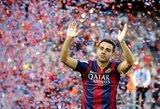 """Xavi ruošiasi sugrįžimui į """"Barceloną"""""""