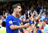 """O.Giroud ir A.Moratos įvarčiai padėjo """"Chelsea"""" iškopti į FA taurės finalą"""