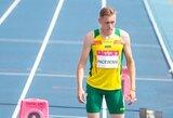 Bėgikas R.Pacevičius Panevėžyje pagerino Lietuvos rekordą
