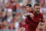 """Italijoje užtikrinta """"Roma"""" pergalė prieš """"Torino"""""""
