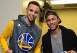 Neymaras neslepia susižavėjimo NBA žvaigžde S.Curry