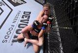 """Vyresnioji Ševčenko parodė sužalotą veidą po kovos: """"MMA – sunkus sportas"""""""