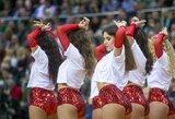 """Pamatykite: """"Žalgirio"""" šokėjų pasirodymas rungtynėse su """"Panathinaikos"""""""