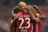 """Lygos lyderių dvikovoje savo akivaizdų pranašumą įrodė """"Bayern"""" klubas"""