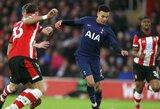 """Anglijos FA taurė: 87-ąją minutę įvartį praleidęs """"Tottenham"""" klubas išleido pergalę prieš """"Southampton"""""""