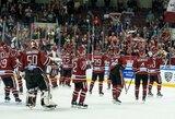 """N.Ališauskas sulaukė didelio trenerio pasitikėjimo, o Rygos """"Dinamo"""" pagaliau pakilo iš KHL dugno"""