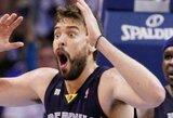 """""""Grizzlies"""" penktą kartą iš eilės įveikė Sakramento krepšininkus"""