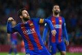 """Atskleista, kiek """"Barcelona"""" naujajame kontrakte įvertino L.Messi"""