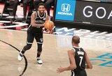 """""""Nets"""" žvaigždžių trejetas iškovojo pirmąją pergalę kartu"""