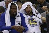 NBA čempionai pasirengimą pradėjo netaikliais tritaškiais ir pralaimėjimu