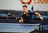 Lietuvos vyrų stalo teniso rinktinė triumfavo trečiajame pasaulio čempionato divizione