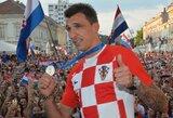 M.Mandžukičius baigė karjerą Kroatijos rinktinėje