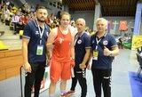 G.Diekontaitė užsitikrino Europos jaunimo bokso čempionato medalį