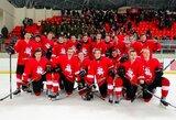 Reikšmingiausias praėjusių metų ledo ritulio įvykis – pasaulio jaunimo čempionatas Elektrėnuose