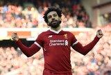 """V.Van Dijkas: """"M.Salah ir vėl pradės mušti įvarčius"""""""