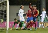Čekija ir Prancūzija užsitikrino kelialapius į Europos čempionatą