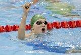 """Penkiskart olimpinis čempionas I.Thorpe'as: """"R.Meilutytė taikosi į aukso medalį"""""""