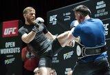 """UFC prezidentas: """"C.McGregoras nieko nebijo ir turėtų sugrįžti dar šiemet"""""""