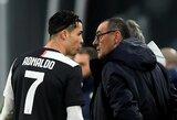 """M.Sarri neskuba ieškoti naujo klubo: algą jam iki šiol moka """"Juventus"""""""