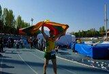 Beveik 279 km nubėgęs A.Sorokinas – pasaulio čempionas