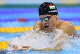 Olimpinėse plaukimo varžybose - rekordų lavina