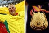 Į Lietuvą sugrįžusį pasaulio čempioną A.Gudžių nustebino susirinkusių sirgalių minia