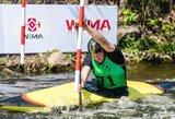 Baidarių ir kanojų slalomo varžybose Slovakijoje lietuviai pasirodė kukliai