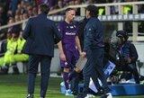 """Pamatykite: po rungtynių teisėją užsipuolusiam F.Ribery gresia diskvalifikacija """"Serie A"""" lygoje"""