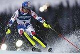 Didelį deficitą panaikinęs A.Pinturault – pasaulio kalnų slidinėjimo čempionas