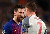 """Incidentą su L.Messi prisiminęs J.Milneris: """"Jis mane išvadino asilu, bet nesuvokė, kad suprantu ispaniškai"""""""