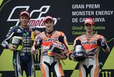 Atkaklias lenktynes laimėjęs M.Marquezas pratęsė pergalių seriją