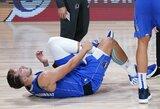 """""""Mavericks"""" nesėkmę apkartino L.Dončičiaus trauma"""