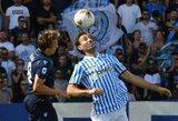 """Italija: """"Lazio"""" paskutinę minutę nusileido prieš """"Spal"""""""