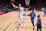 """Geriausią mačą Las Vegase sužaidęs A.Kulboka buvo rezultatyviausias """"Hornets"""" žaidėjas"""
