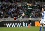 """""""Real"""" padėjo """"Valencia"""" klubui aplenkti """"Sociedad"""""""