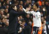 """""""Tottenham"""" ir toliau netenka lyderių: M.Pochettino susirūpino dėl D.Alli traumos"""