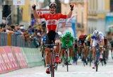 """R.Navardauskas pirmą kartą šių metų """"Giro d'Italia"""" lenktynėse pateko į geriausiųjų 20-uką"""