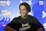 """Ambicinga Ronaldinho prognozė: """"Tottenham"""" gali laimėti Čempionų lygą"""""""